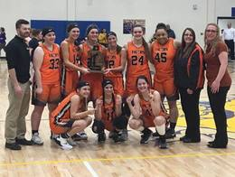 Girls Basketball District Champs