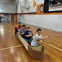 Canoeing in the Gym